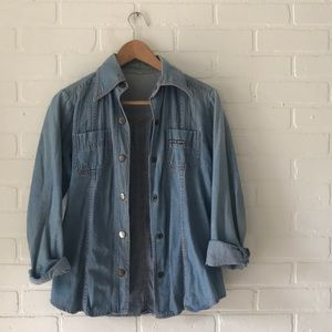 Jackets & Blazers - Vintage Denim Jacket